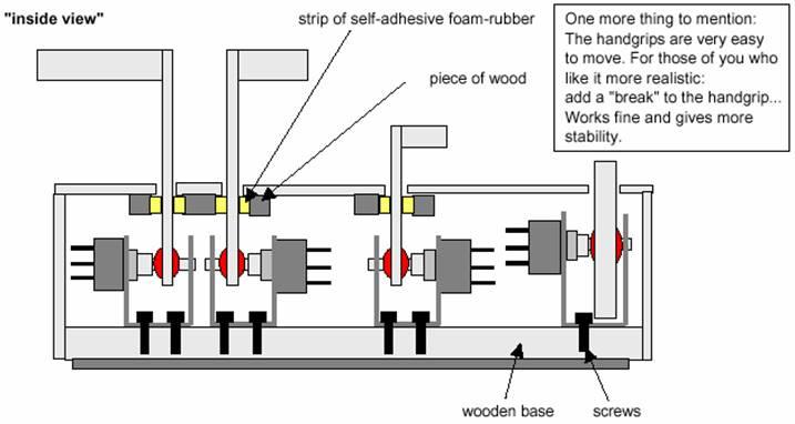 homebuilt throttle quadrant