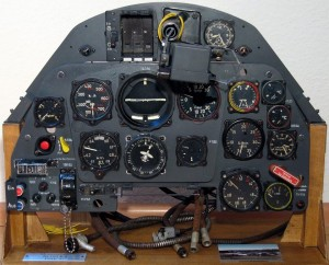 Bf-109K Instrument Panel Display