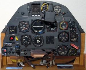 Bf-109K Instrument Panel Display