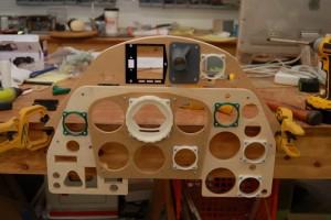 """Test"" Bf-109K4 instrument panel"